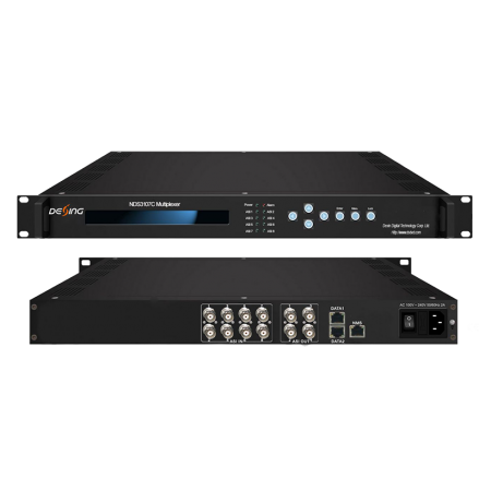 IP/ASI мультиплексор Dexin