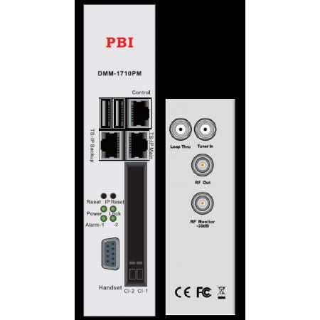 DVB/2*IP приёмник/аналоговый модулятор