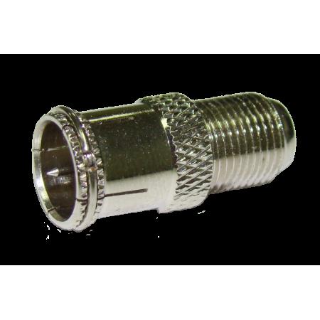 Переход F-розетка/F-коннектор